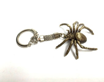 "Bronze keychain ""spider""