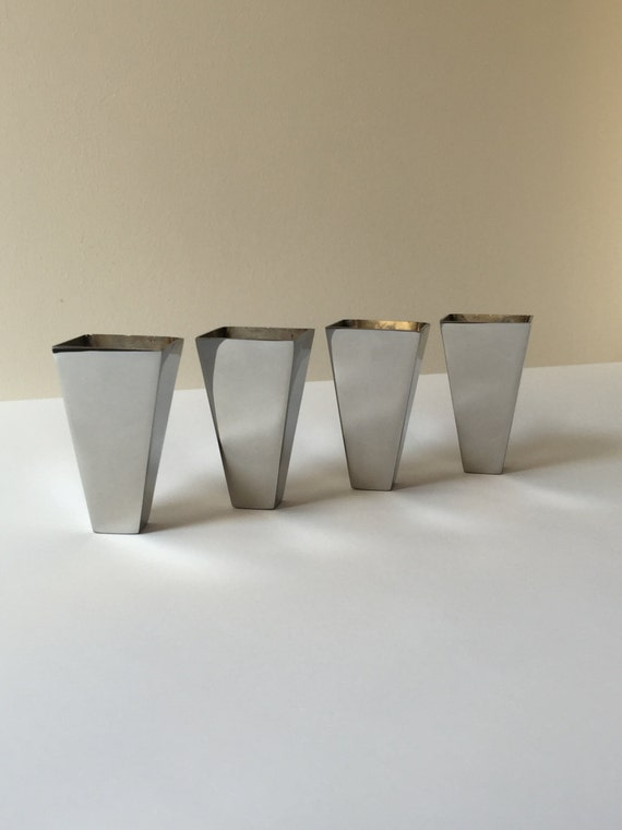 End Cap Foot Tip Chrome Leg Cap Furniture By Metalfurnitureparts