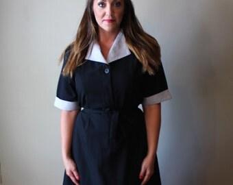 50's Black Vintage Dress