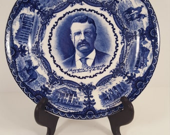 Rowland & Marsellus Theodore Roosevelt Plate; presidential plate