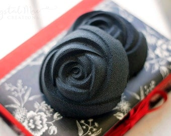 Black Rose Bath Bomb - Pick Your Scent!!