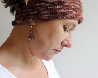 Womens Wool Headband, 100 Wool Felt Headband for Women, Wool Ear Warmer, Wide Boho Headband, Wide Boho Headbands, Boho Headband Wide