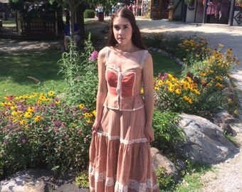 Gunne Sax Renaissance/Peasant Dress