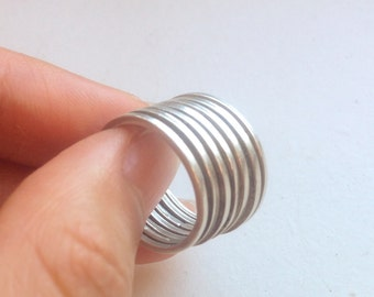 7 rings Sterling Silver ring, Size 5.75