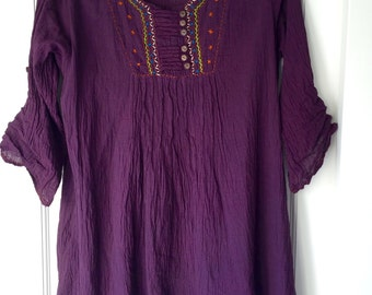 Handmade Vintage Tunic from Guatemala