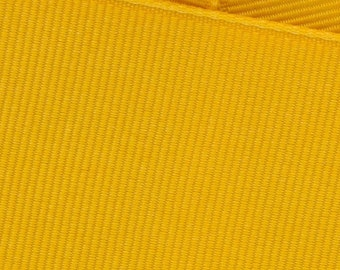 Gold Yellow Grosgrain Ribbon     (05-##-S-276)