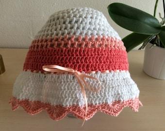 Crochet hat girl