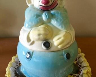 Brush McCoy Clown Cookie Jar