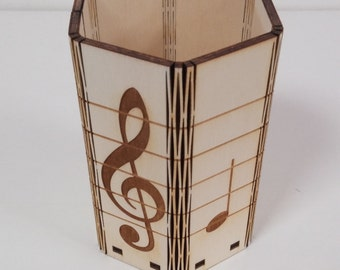 Music pen holder