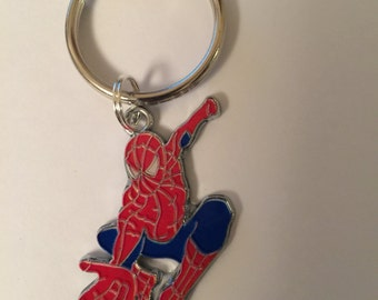 Spiderman Marvel Character Keyring