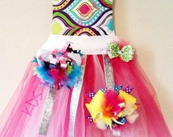 Tutu dress Bow holder