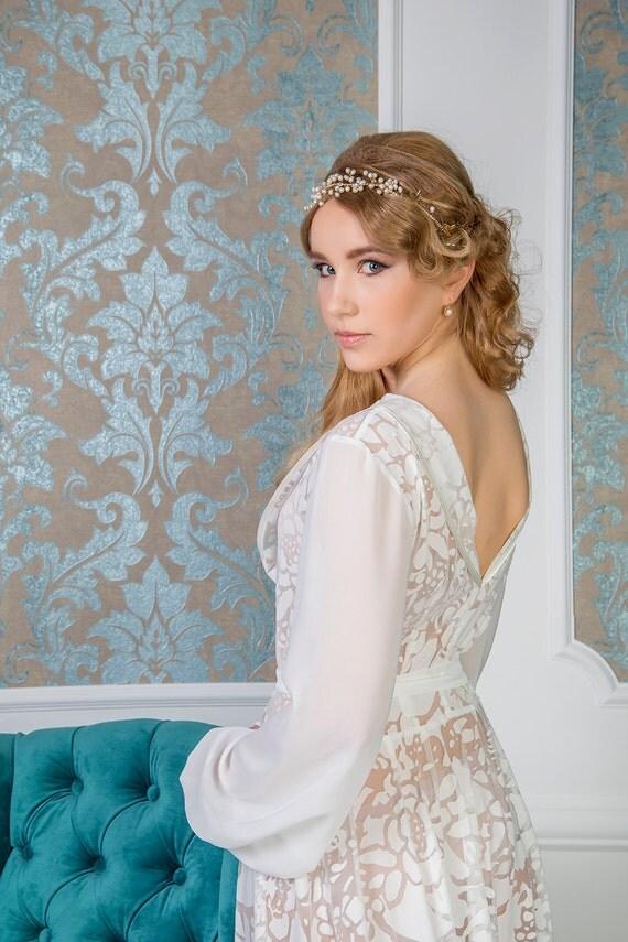 bridal robe Style 1614...