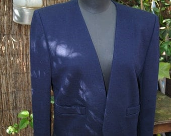 Blue jacket Navy Sonia Rykiel 1980
