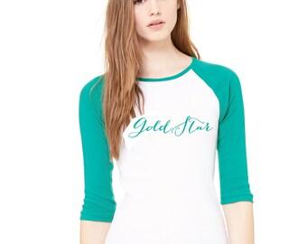 Gold star Lesbian Lesbian Pride shirt Girlie Lesbian shirt Gay Pride shirt Gay OK tee Gay AF Lesbian tshirt Feminine Lez