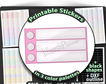 printable to do Checklist planner stickers To Do Printable checklist Stickers for use with Erin Condren planner. To Do Stickers Checklist