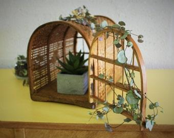 Transportation vintage for cat - Decoration wicker basket