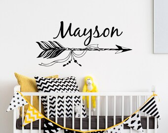 Wall Decals Nursery Etsy - Custom vinyl wall decals nursery