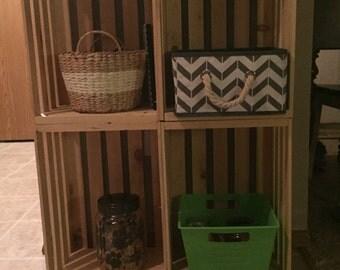 Crate TV Stand/Bookshelf