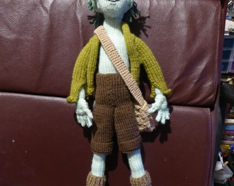OOAK knitted fairy/elf boy