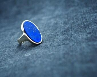 Lapis Lazuli Ring - Size 7 ~ FREE SHIPPING