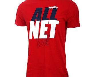 All Net Short Sleeve Basketball T-shirt, Basketball Shirts, Basketball Gift - Free Shipping!