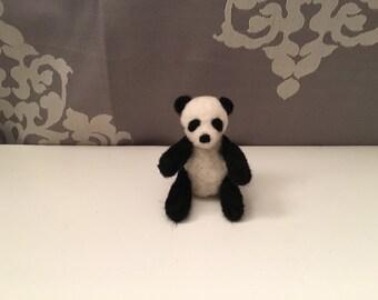 Panda - Needle Felted