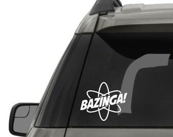 Big Bang Bazinga Decal
