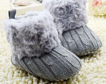 Plush & Knitted Boots