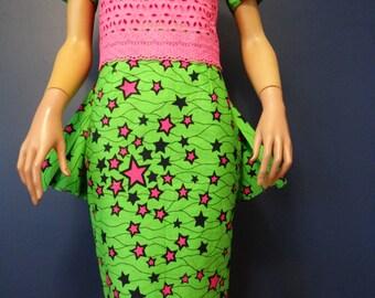 Detachable Pink Star Dress