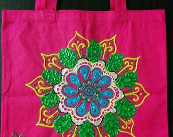 Intricate Hand Designed Tote Bag