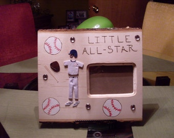 Little All Star picture frame