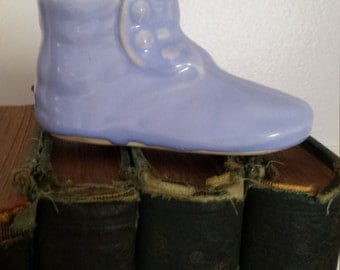 CLEARANCE SALE 50% OFF Adorable Vintage Button up Baby Shoe or Bootie
