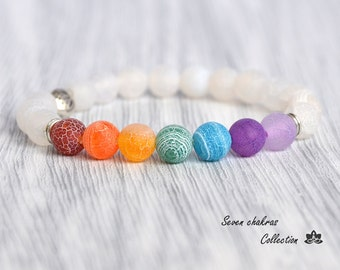 Gemstone Jewelry Chakra Bracelet Mala Beads Womens bracelets Prayer Beads Yoga Jewelry Energy Bracelet Chakra Jewelry Yoga Bracelets