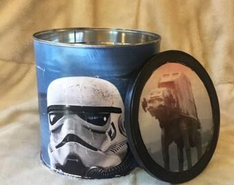Custom Decoupage Coffee Cans