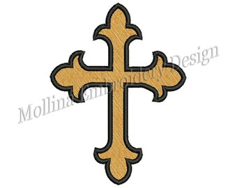 Cross Machine Embroidery Design 6 Size