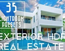 35 HDR Exterior Real Estate Lightroom Presets