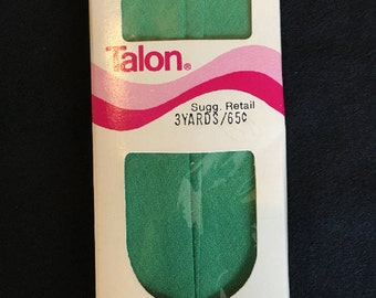 Vintage Kelly Green Bias Tape