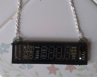 Electronic Display Necklace