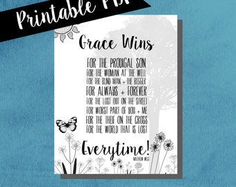 Coloring page, christian song, grace wins, matthew west song, printable coloring page, song lyrics, downloadable coloring page, gift ideas