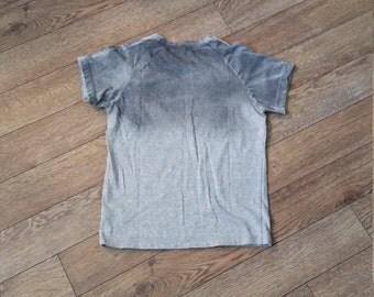 Gradation Top/Silk Screen Print on Jersey top/ Boy's Top/ Cotton Jersey Top