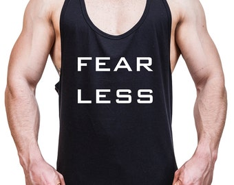 Men Stringer tank top fearless
