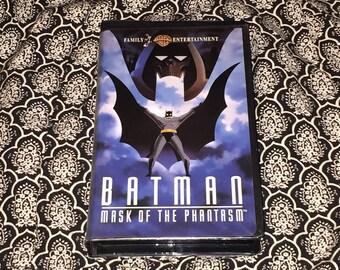 Batman Mask of the Phantasm [VHS] Vintage 1990's w/ Limited Edition DC Comic