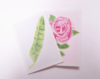 A5 Notebook Set, Floral Journal, Botanical Print, Lined/Squared/Blank/Dotted Notebook, Sketch Pad, Floral Art, Colourful Stationery