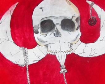 Mammoth Skull