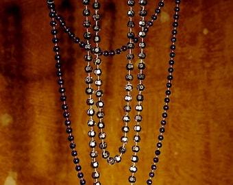 Art Print: Mardi Gras Beads