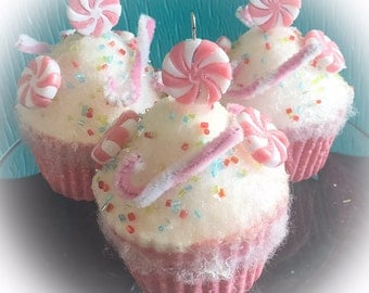 Pink Candy Themed Fake Cupcakes