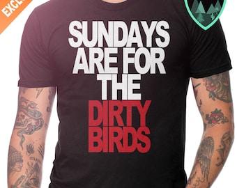 Atlanta Falcons Sunday Shirt, Sundays are for the Dirty Birds Shirt, Atlanta Falcons Shirt, ATL Falcons, Dirty Birds Shirt