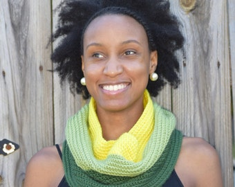 Green Ombre Cowl