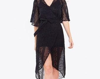 Collette Wrap Dress
