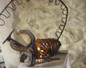 "Sculpture metal ""el scorpio"""